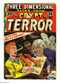 Golden Age (1938-1955):Horror, Three Dimensional Tales from the Crypt of Terror #2 (EC, 1954)Condition: GD. Stories from Tales From the Crypt and Va...