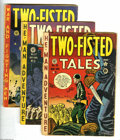 Golden Age (1938-1955):War, Two-Fisted Tales #20 and 22-23 Group (EC, 1951). Three-issue lotincludes #20 (FR), 22 (VG), and 23 (VG-). Each features a c... (3Comic Books)