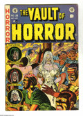 Golden Age (1938-1955):Horror, Vault of Horror #28 (EC, 1953) Condition: FN-. Johnny Craig cover.Craig, Jack Davis, George Evans, and Graham Ingels art. O...