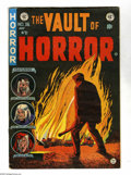 "Golden Age (1938-1955):Horror, Vault of Horror #36 (EC, 1954) Condition: FN+. Johnny Craig cover.Craig's story ""Twin Bill"" was cited in an article by Fred..."