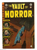 Golden Age (1938-1955):Horror, Vault of Horror #37 (EC, 1954) Condition: VG/FN. First appearanceof Drusilla (Vampirella look-alike). Cover by Johnny Craig...