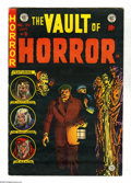 Golden Age (1938-1955):Horror, Vault of Horror #38 (EC, 1954) Condition: FN+. Johnny Craig cover.Craig, Jack Davis, Bernard Krigstein, and Graham Ingels a...