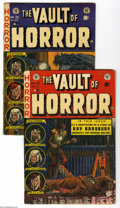 Golden Age (1938-1955):Horror, Vault of Horror #31 and 32 Group (EC, 1953). This group containsissues #31 and 32. Johnny Craig covers. Issue 31 features a... (2Comic Books)