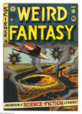 Golden Age (1938-1955):Science Fiction, Weird Fantasy #11 (EC, 1952) Condition: VG/FN. Al Feldstein cover.Wally Wood (two stories), Jack Kamen, and Joe Orlando art...