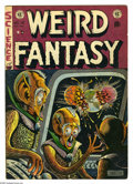 Golden Age (1938-1955):Science Fiction, Weird Fantasy #16 (EC, 1952) Condition: VG+. Al Feldstein cover.Jack Kamen, Joe Orlando, and Al Williamson/Roy Krenkel art....