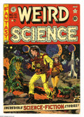 Golden Age (1938-1955):Science Fiction, Weird Science #10 (EC, 1951) Condition: VG+. Wally Wood cover.Wood, Jack Kamen, and Joe Orlando art. Covers browning. Overs...
