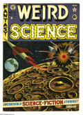 Golden Age (1938-1955):Science Fiction, Weird Science #11 (EC, 1952) Condition: FN+. Jack Kamen biography.Al Feldstein cover. Kamen, Joe Orlando, and Wally Wood ar...