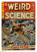 Golden Age (1938-1955):Science Fiction, Weird Science #12 (EC, 1952) Condition: FR/GD. No staples. WallyWood cover. Interior art by Wood (two stories), Jack Kamen,...