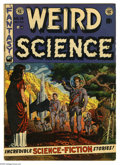 Golden Age (1938-1955):Science Fiction, Weird Science #14 (EC, 1952) Condition: VG+. Wally Wood cover.Wood, Bill Elder, Sid Check, and Joe Orlando art. Covers brow...