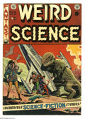 Golden Age (1938-1955):Science Fiction, Weird Science #15 (EC, 1952) Condition: VG+. Wally Wood dinosaurcover. Wood, Al Williamson/Roy Krenkel, Jack Kamen, and Joe...
