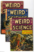 Golden Age (1938-1955):Horror, Weird Science #17-22 Group (EC, 1953) Condition: Average GD-. Thelot consists of issues #17, 18, 19, 20, 21, and 22. Artist... (6Comic Books)