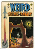 """Golden Age (1938-1955):Science Fiction, Weird Science-Fantasy #24 (EC, 1954) Condition: VG-. HarlanEllison's first professional story, """"Upheaval"""". Al Feldstein cov..."""