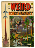 Golden Age (1938-1955):Science Fiction, Weird Science-Fantasy #25 (EC, 1954) Condition: VG. Al Williamsoncover. Williamson, Wally Wood, Marie Severin, Bernard Krig...