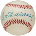 Autographs:Baseballs, Circa 1990 Ted Williams Single Signed Baseball.. ...