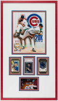 Autographs:Photos, Kerry Wood Signed Display Lot of 2.. ...