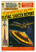 """Golden Age (1938-1955):Science Fiction, Weird Science-Fantasy #26 (EC, 1954) Condition: VG+. Special FlyingSaucer Report issue, all incidents based on """"true"""" stori..."""