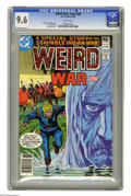 Modern Age (1980-Present):War, Weird War Tales #88 (DC, 1980) CGC NM+ 9.6 White pages. Joe Kubertcover. Overstreet 2005 NM- 9.2 value = $7. CGC census 6/0...