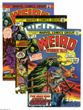 Bronze Age (1970-1979):Horror, Weird Wonder Tales Group (Marvel, 1974-76) Condition: AverageVF/NM. Nine-issue lot includes #6, 9, 10, 12, 13, 14, 16, 17, ...(9 Comic Books)