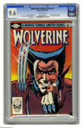 Modern Age (1980-Present):Superhero, Wolverine Limited Series #1 (Marvel, 1982) CGC NM+ 9.6 Off-white pages. First solo Wolverine comic. Frank Miller cover and a...