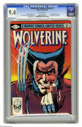 Modern Age (1980-Present):Superhero, Wolverine Limited Series #1 (Marvel, 1982) CGC NM 9.4 Off-white pages. First solo Wolverine comic. Frank Miller cover and ar...