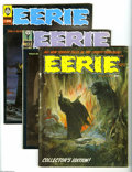 Magazines:Horror, Eerie Box Lot (Warren, 1966-80) Condition: Average FN. This full short box-lot includes #2 (first appearance of Cousin Eerie...