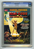 "Magazines:Science-Fiction, Marvel Preview #1 (Marvel, 1975) CGC NM 9.4 Cream to off-white pages. Featuring ""Man-Gods From Beyond the Stars."" Neal Adams..."