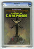 "Magazines:Humor, National Lampoon #27 (NL Communications, 1972) CGC NM- 9.2Off-white to white pages. Frank Frazetta ""Crucified Alien""cover...."