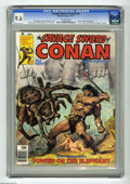 "Magazines:Miscellaneous, Savage Sword of Conan #24 (Marvel, 1977) CGC NM+ 9.6 Off-whitepages. Vicente Alcazar frontispiece. ""Amra"" fanzine article b..."
