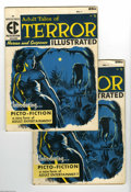 Golden Age (1938-1955):Horror, Terror Illustrated #1 Group (EC, 1955) Condition: Average VG. Lotfeature two copies of #1. Reed Crandall cover. Crandall, G... (2Comic Books)