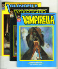 Magazines:Horror, Vampirella Group (Warren, 1971-76) Condition: Average VF. This group contains issues #14, 15, 20, 25, 29, 35, 37, 43, 52, an... (10 Comic Books)