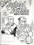 Original Comic Art:Covers, Stan Goldberg and Mike Esposito - Jughead with Archie DigestMagazine #131 Cover Original Art (Archie, 1997). Archie and Jug...(2 items)