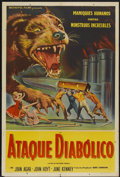 "Movie Posters:Science Fiction, Attack of the Puppet People (American International, 1958).Argentinean Poster (29"" X 43""). Science Fiction...."