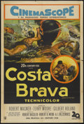"Movie Posters:Adventure, Beneath the 12-Mile Reef (20th Century Fox, 1953). ArgentineanPoster (29"" X 43""). Adventure...."