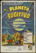 "Movie Posters:Science Fiction, The Phantom Planet (American International, 1961). ArgentineanPoster (29"" X 43""). Science Fiction...."