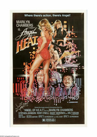 "Angel of H.E.A.T (Studio Pan-Imago, 1982). One Sheet (27"" X 41""). Offered here is an original poster for this..."