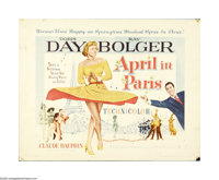 """April in Paris (Warner Brothers, 1952). Half Sheet (22"""" X 28""""). This lot contains an original poster for this..."""