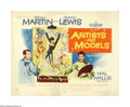 "Movie Posters:Comedy, Artists and Models (Paramount, 1955). Half Sheet (22"" X 28""). This lot contains an original poster for this musical comedy d..."