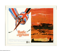 "Battle of Britain (United Artists, 1969). Half Sheet (22"" X 28""). This is an original poster for this war dram..."