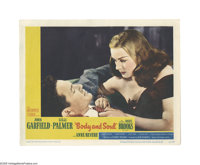 """Body and Soul (United Artists, 1947). Lobby Card (11"""" X 14""""). Offered here is an original lobby card for this..."""
