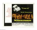 "Movie Posters:Thriller, The Boston Strangler (20th Century Fox, 1968). Half Sheet (22"" X 28""). This lot contains an original poster for this crime t..."