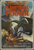 "Movie Posters:Science Fiction, Galaxy of Terror (United Artists, 1981). Argentinean Poster (29"" X43""). Science Fiction...."