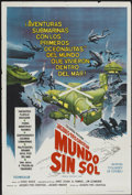 """Movie Posters:Documentary, World Without Sun (Columbia, 1964). Argentinean Poster (29"""" X 43""""). Documentary...."""