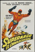 "Movie Posters:Adventure, Superargo Versus Diabolicus (Columbia, 1968). Argentinean Poster(29"" X 43""). Adventure...."