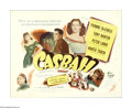 "Movie Posters:Musical, Casbah (Universal International, 1948). Half Sheet (22"" X 28""). This lot contains an original half sheet for this crimer sta..."