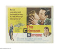 """Movie Posters:Mystery, The Crimson Kimono (Columbia, 1959). Title Lobby Card (11"""" X 14""""). Offered here is an original lobby card for this mystery/t..."""