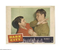"Dark City (Paramount, 1950). Lobby Card (11"" X 14""). Offered here is an original lobby card for this crime dra..."