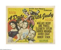 "A Date with Judy (Loew's, 1948). Title Lobby Card (11"" X 14""). Offered here is an original lobby card for this..."