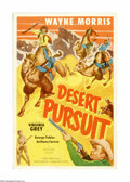 "Movie Posters:Western, Desert Pursuit (Monogram, 1952). One Sheet (27"" X 41""). Offered here is an original poster for this Western starring Wayne M..."