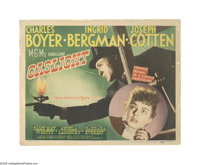 """Gaslight (MGM, 1944). Title Lobby Card (11"""" X 14""""). Offered here is an original lobby card for this thriller d..."""