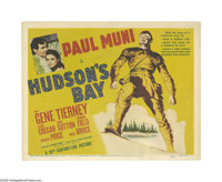 "Hudson's Bay (20th Century Fox, 1941). Title Lobby Card (11"" X 14""). Offered here is an original lobby card fo..."